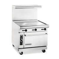 American Range Commercial Gas Range With Griddle AR36G - 95000 BTU/Hr