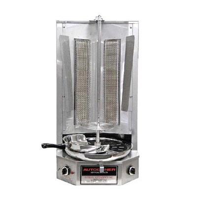Autodoner Commercial Gas Gyro Machine G300 - 30,000 BTU/Hr