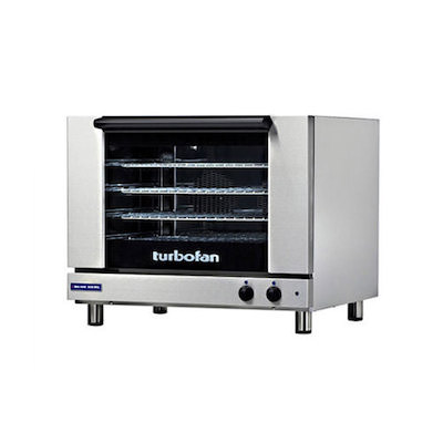 Blue Seal Countertop Electric Convection Oven E22M3 - 1.5 kW, Manual