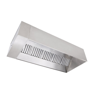 CaptiveAire Commercial Wall Canopy Hood SND-2 - 400°F/600°F
