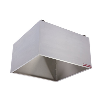 CaptiveAire Commercial Wall Canopy Hood VHB - 100/150CFM/FT