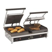 Star Max Commercial Grooved Sandwich Grill GX20IG - 175¬°F to 450¬°F