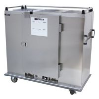 Cres Cor Stainless Steel Banquet Cabinet EB-150A - 150 Plates