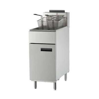 EFI Commercial Gas Fryer RF-40 - 90,000 BTU/Hr