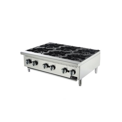 EFI Commercial Gas Hot Plate RCTHP-36-N - 150,000 BTU/Hr