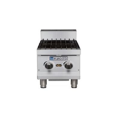 HP212 Eurodib Commercial Gas Hot Plate HP212 - 60,000 BTU/Hr