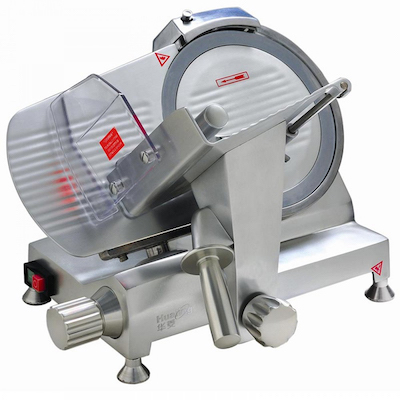 "Eurodib Manual Meat Slicer HBS-250L - 10"" Blade"
