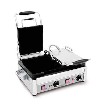 Eurodib Commercial Smooth Sandwich Grill SFE02360 - 2900Watts
