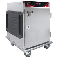 Cres Cor Half Size Hot Cabinet H-137-SUA-6D - 184 Lb, Stainless Steel