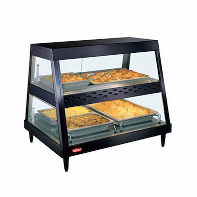Hatco Angled Heated Display Case GRHD-4PD - 58""