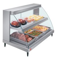 Hatco Curved Heated Display Case GRCD-3PD - 45""