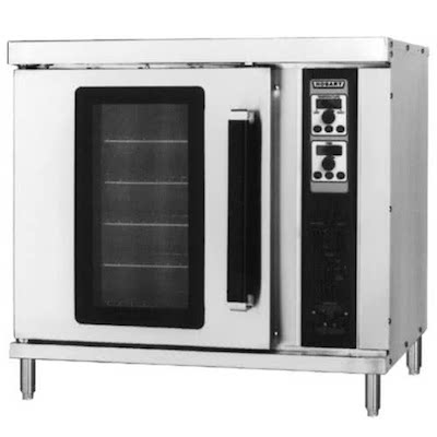 Hobart Half Size Electric Convection Oven HEC201 - 208/240V, Single Deck