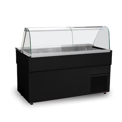 "Igloo Curved Glass Hot Food Display HFT67 - 67"""