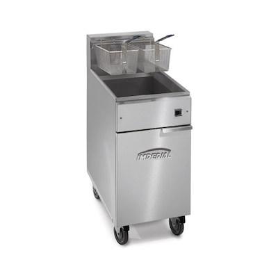 Imperial Commercial Gas Fryer IFS-40 - 105,000 BTU/Hr