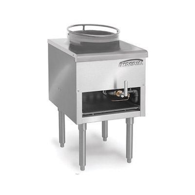 Imperial Commercial Top Wok Range ISP-J-W-16 - 125,000 BTU/Hr