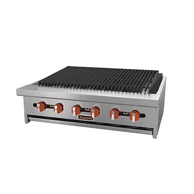 MVP Commercial Gas CharBroiler SRRB-24 - 64,000 BTU/Hr