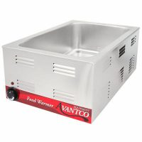 Nemco Single Pan Food Warmer 6055A - 1200 Watts