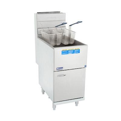 Pitco Commercial Gas Deep Fat Fryer 40C+ - 105,000 BTU/Hour