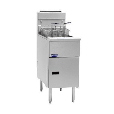 SG14-S Pitco Solstice Commercial Gas Fryer SG14-S - 110,000 BTU/Hr