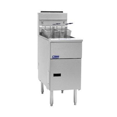 SG18-S Pitco Solstice Commercial Gas Fryer SG18-S - 140,000 BTU/Hr