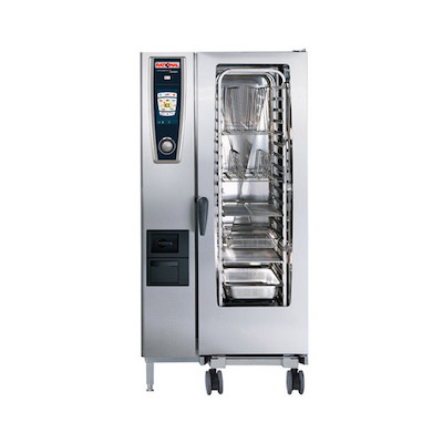 Rational Self Cooking Center Gas Combi Oven 201-G - 655 Lb