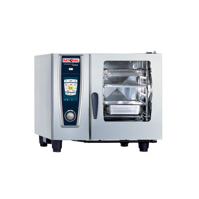 Rational Self Cooking Center Gas Combi Oven 61-G - 279 Lb