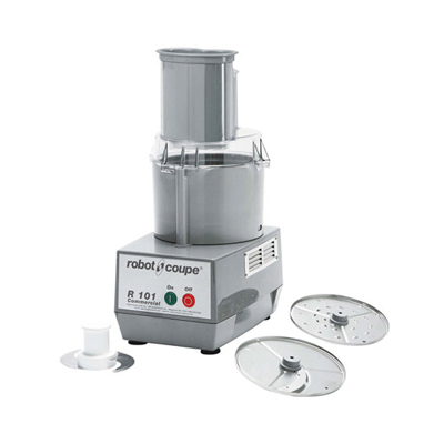 Robot Coupe Combination Food Processor R101 - 2.5 Qt Grey Bowl