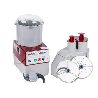 Robot Coupe Combination Food Processor R2N - 3 Qt Grey Bowl