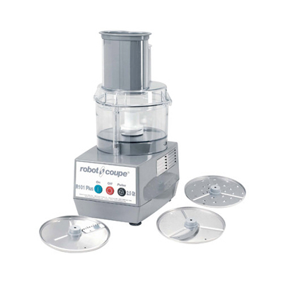 Robot Coupe Continuous Feed Food Processor R101-PLUS - 2.5 Qt Clear Bowl