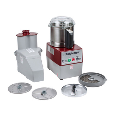 R2-DICE-ULTRA Robot Coupe Continuous Feed Food Processor R2-DICE-ULTRA - 3 Qt Stainless Steel Bowl