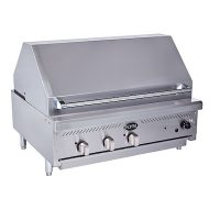 Royal Range Commercial Counter-Top Charbroiler RIBT-36 - 105000 BTU/Hr