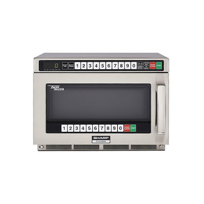 R-CD1800M Sharp Heavy Duty Commercial Microwave Oven R-CD1800M - 1800 W