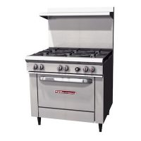 Southbend Commercial Gas Range With 6 Burner S36D - 203000 BTU/Hr