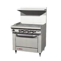 Southbend Commercial Gas Range With Griddle S36D-3G - 99,000 BTU/Hr
