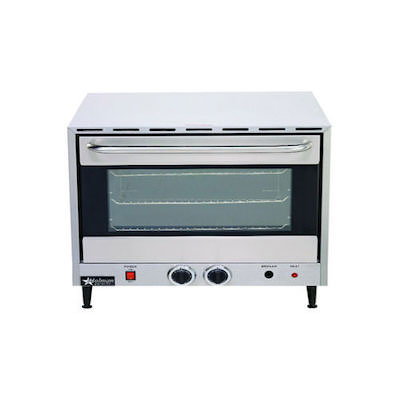 Star Holman Half Size Countertop Electric Convection Oven CCOH-4 - 73""
