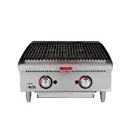 Star Max Commercial Gas Charbroiler 6124RCBF - 70,000 BTU/Hr