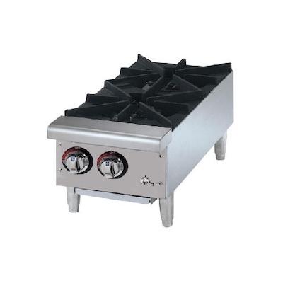 602HF Star Max Commercial Gas Hot Plate 602HF - 50,000 BTU/Hr