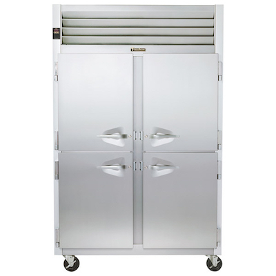 G24300 Traulsen Hot Food Holding Cabinet G24300 - Half Door