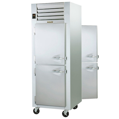 Traulsen Pass-Through Hot Food Holding Cabinet G14304P - Half Door