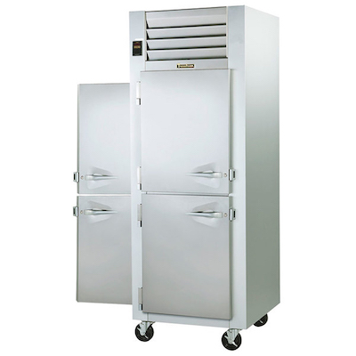 Traulsen Pass-Through Hot Food Holding Cabinet G14305P - Half Door