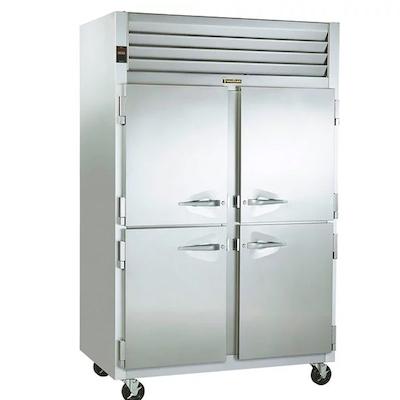 Traulsen Pass-Through Hot Food Holding Cabinet G24304P - Half Door