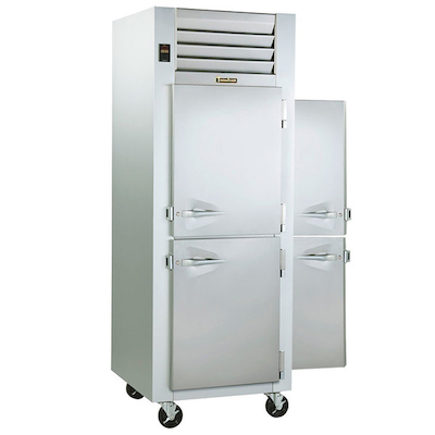Traulsen Pass-Through Hot Food Holding Cabinet G14303P - Half Door