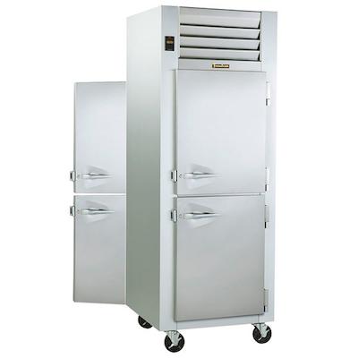 Traulsen Pass-Through Hot Food Holding Cabinet G14302P - Half Door