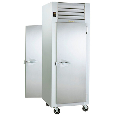 Traulsen Pass-Through Hot Food Holding Cabinet G14312P - Full Door