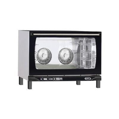Unox LineMiss Countertop Electric Convection Oven XAFT-195 - 4 Shelves, Digital