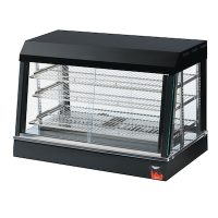Vollrath Angled Glass Countertop Heated Display Case 40733 - 26""