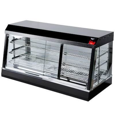 """40735 Vollrath Angled Glass Countertop Heated Display Case 40735 - 48"""""""