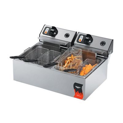40707 Vollrath Commercial Countertop Electric Fryer 40707 - 20Lb