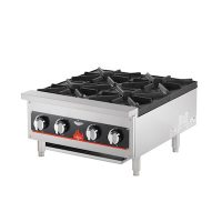 Vollrath Commercial Gas Hot Plate HPA1004 - 104000 BTU/Hr