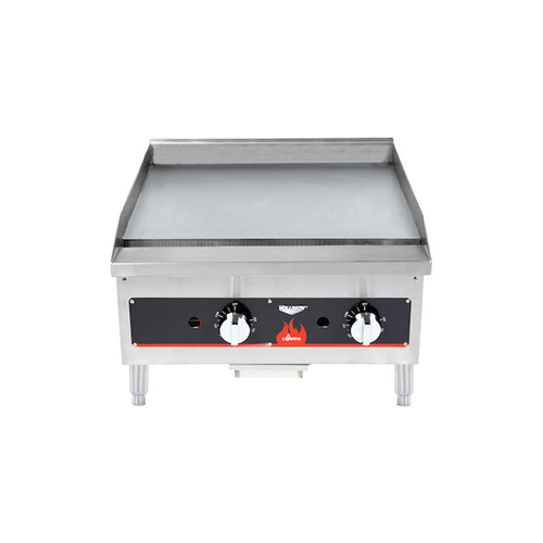 40722 Vollrath Cayenne Commercial Thermostatic Gas Griddle 40722 - 56,000 BTU/Hr